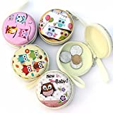 little Owls (PACK of 2) Pouch bag purse holder Organiser Storage Box Accessories kit Mini Wallet case Pouch For Earphone Earphones Coins Pills Memory Card Pendrive Jewllery Earings rings Womens Women's Girls Mens Men's gifts girls Organisers Jewllery Box Accessories kit Mini Wallet Purse Organiser bag Case Pouch case For Earphone Earphones case pouch
