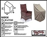 Raffles Covers RADJC95 Schutzhülle für Gartenstühle mit hoher Rückenlehne Schutzhülle für Stapelstühle und Relaxsessel, Abdeckhaube für Gartenstühle