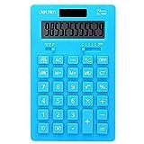 Solar Energy Dual Power Calculator Wissenschaftlicher Taschenrechner -Blau