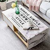 YCZZ Accueil Nordic Épaisse Nappe en Coton, Table Basse Salon Nappe Rectangulaire 70 x 160 cm (Double Rangement de Poche) Nordique Minimaliste Nappe