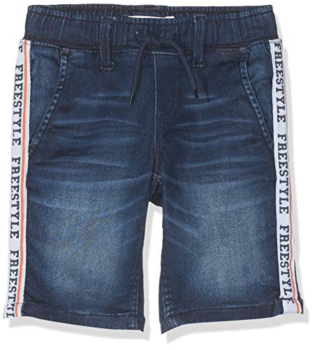 Name it nkmsofus dnmarlan 3202 swe long shorts pantaloncini, blu dark blue denim, 152 bambino