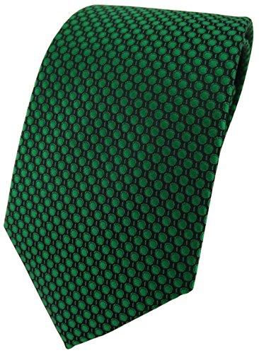Corbata verde verde lunares