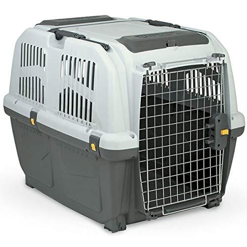 MPS SKUDO 4 IATA Trasportino per Cani Conforme agli Standard per Il Trasporto Aereo 68x48x51h cm