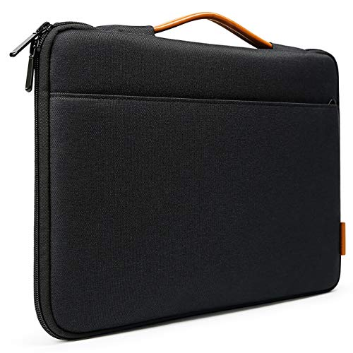 Inateck 13-13,3 Zoll Sleeve Hülle Ultrabook Laptop Tasche Kompatibel mit 13,3 Apple MacBook Pro Retina/MacBook Air und Surface Pro6/Surface Pro 2017/4/3, Schwarz