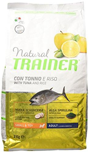 Natural Trainer Trainer Natural Small Pesce Riso kg. 2 Cibo Secco per Cani, Multicolore, Unica