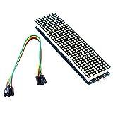 4-in-1 MAX7219 8x8 LED Matrix-Display
