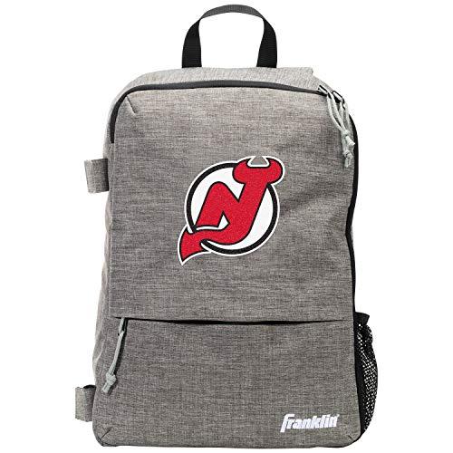 Polyester-jersey Werfen (Franklin Sport-Rucksack New Jersey Devils Street Pack, Team-Logo, Hockey-Tasche mit Hockeyschlägerhalter, offizielles Lizenzprodukt)