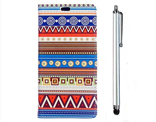 kshop-pu-leather-case-for-sony-xperia-z5-cover-flip-standing-wallet-case-colorful-printing-drawing-a