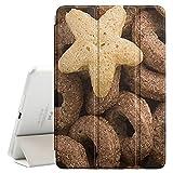 FJCases Céréales Le Petit déjeuner Smart Cover Coque Étui Cache Mince avec Support et Auto Réveil/Veille pour Apple iPad Mini 4