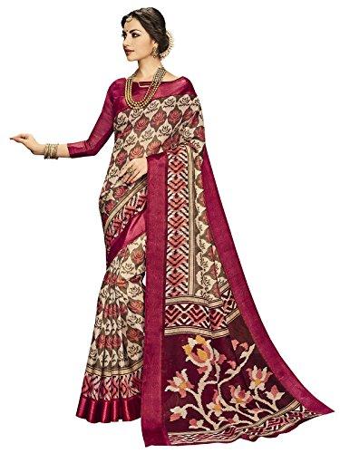 Ethnicjunction Latest Collection - Bapta Printed Kota Silk Saree With Blouse Piece...