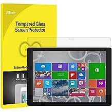 JETech 0912-SP-SURFACE-PRO-3-GLASS - Protector de pantalla (Protector de pantalla, Microsoft, Surface Pro 3, Resistente a arañazos, Transparente, 1 pieza(s))