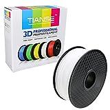 TIANSE Clear PETG 3D Filament 1,75 mm für 3D Drucker 1 kg, Dimensionsgenauigkeit +/- 0,03 mm