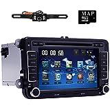 navihouse 17,8cm HD 2DIN Auto DVD-Player GPS Navigation für VW Passat Skoda Jett Golf Polo