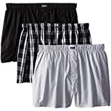 Calvin Klein Men's Three-Pack Cotton Classic Woven Boxer