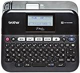 Brother PTD450VPZG1 P-touch D450VP laminiertes Schriftband, 18 mm, schwarz