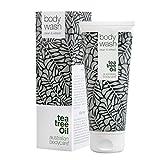 Australian Bodycare Body wash (200 ml) - antibakterielles Duschgel mit Teebaumöl - Natürliches und sanftes Waschgel für die täglichen Körperpflege - feuchtigkeitsspendendes Duschgel - Bekannt aus der Apotheke - Duschgel für Männer und Frauen - 100% vegan