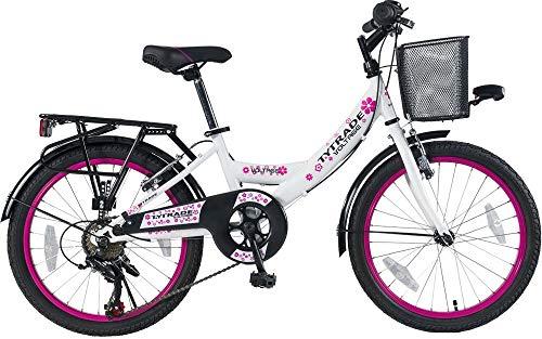 20 ZOLL Kinder Fahrrad Kinderfahrrad Cityfahrrad Citybike Mädchenfahrrad Bike VOLTAGE LADY WEISS