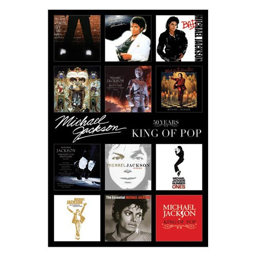 Michael Jackson - Album Covers - Maxi Poster - 61 cm x 91.5 cm