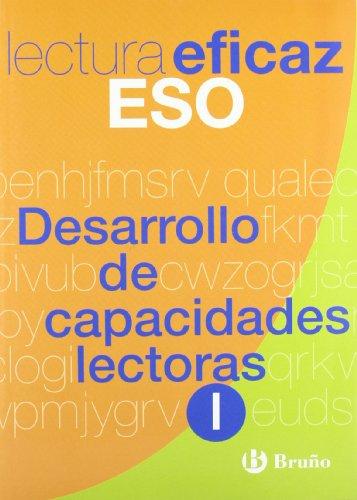 Desarrollo de capacidades lectoras I Lectura Eficaz ESO: 1 (Castellano - Material Complementario - Juegos De Lectura) - 9788421650295 por Carlos Miguel Álvarez de Eulate Alberdi