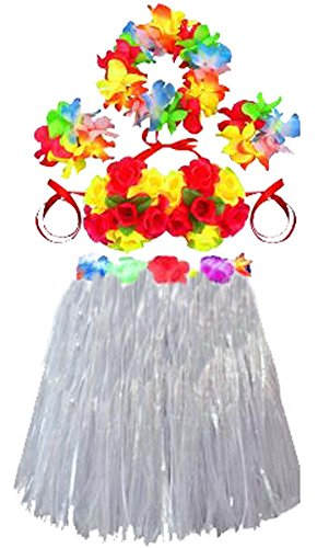 Mode-Partei-Kleid Popular Rock-Tanz-Rock Hula Rock-Weiß