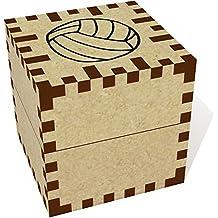 Klein (39mm) 'Volleyball' Ringschachtel / Schmuckkästchen (JB00016261)