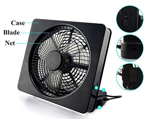 Welltop 6 Zoll Beweglicher Ventilator Bild 2*