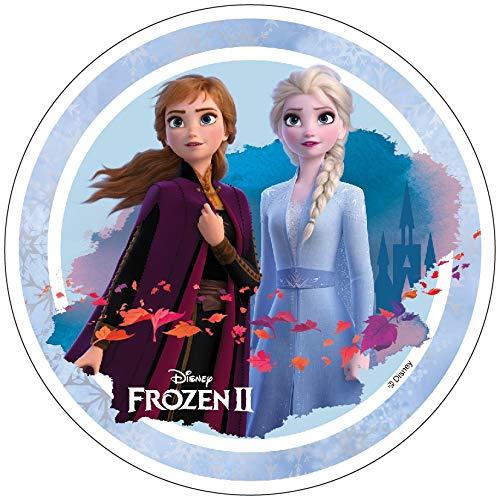 Essbarer Tortenaufleger Frozen 2 Oblate Motiv 1 NEU