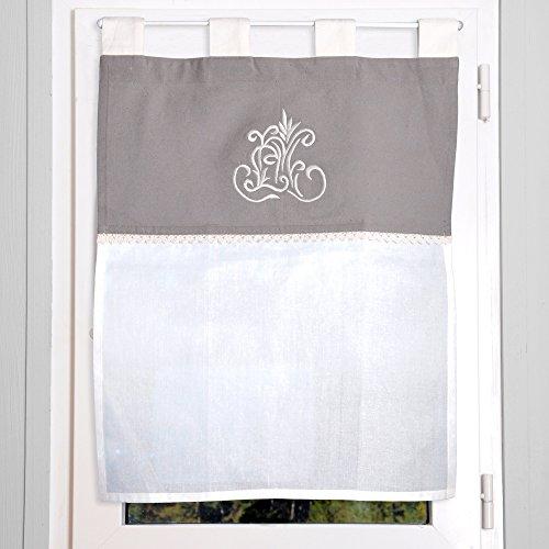 lovely-casa-ra1292001-antan-brise-bise-voilage-coton-gris-45-x-60-cm