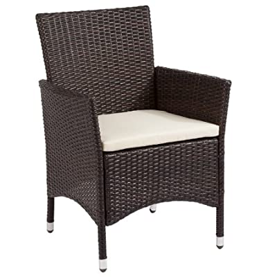 Ultranatura Polyrattan Sessel mit Armlehne, Palma-Serie - 59 x 57 x 85 cm