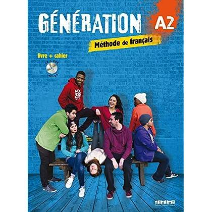Génération 2 niv.A2 - Livre + Cahier + CD mp3 + DVD