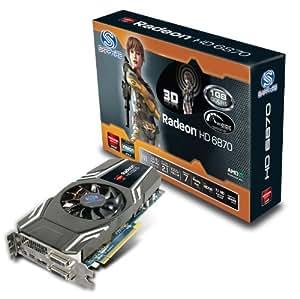 Sapphire Radeon HD6870 Grafikkarte (ATI Radeon HD 6870, PCI-e, 1GB, GDDR5 Speicher)
