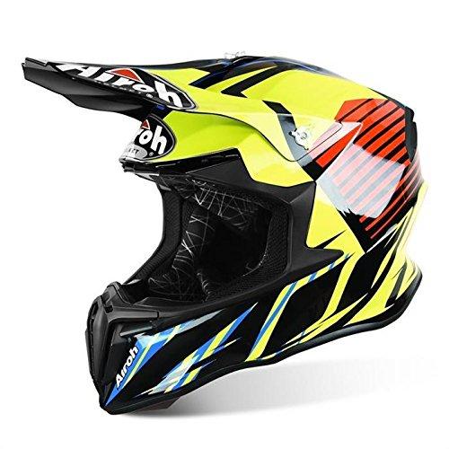 Airoh - casco moto cross airoh twist strange blue gloss twst18 - catw7a - xs