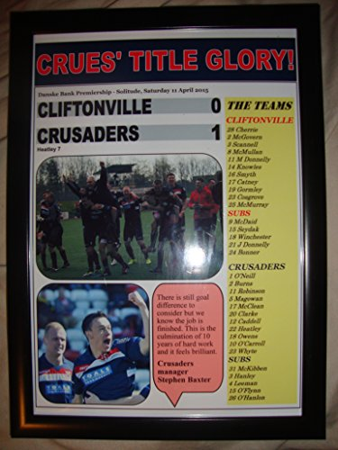 cliftonville-0-crusaders-1-2015-framed-print