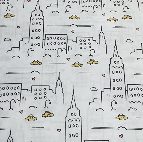 new-york-city-scape-taxi-full-size-sheet-set-cotton-by-kensie