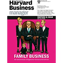 Harvard Business Manager Edition 2/2016: Family Business