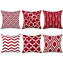 Amazon.fr : coussin rouge