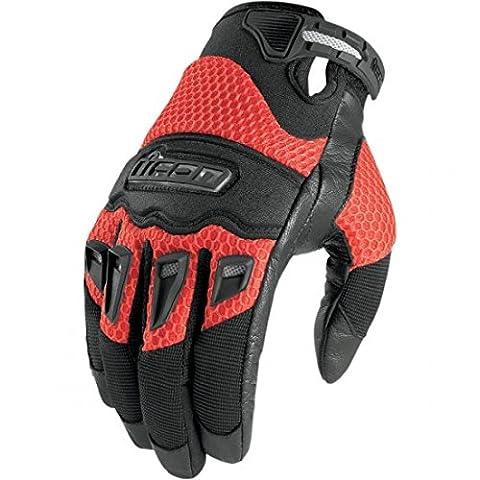 Icon Twenty Niner Gloves - 3X-Large/Red