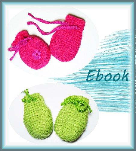 Häkelanleitung Handschuhe Baby, Babyhandschuhe häkeln: Schritt-für-Schritt Häkelanleitung für Babyhandschuhe