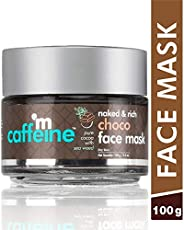mCaffeine Naked & Rich Choco Face Mask/Pack | Cocoa, Sea Weed | Deep Nourishing | Dry Skin | Paraben &