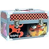 Prodigiosa: Las aventuras de Ladybug 41173, Maletín de cartón con efecto metálico