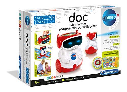 Clementoni 66837 Coding Lab-Doc Educatieve Pratende Robot, Mehrfarbig