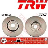 TRW Automotive AfterMarket DF4855S Disco Freno