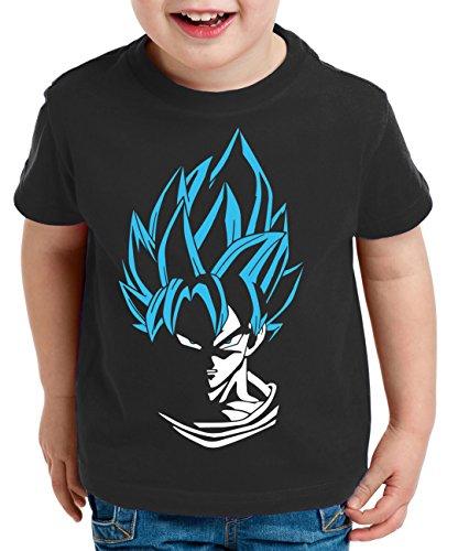Super Son Camiseta para Niños T-Shirt Goku Dragon Master Ball Vegeta