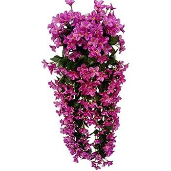 Piante artificiale vite di fiore margherita glicine appeso for Piante rampicanti finte