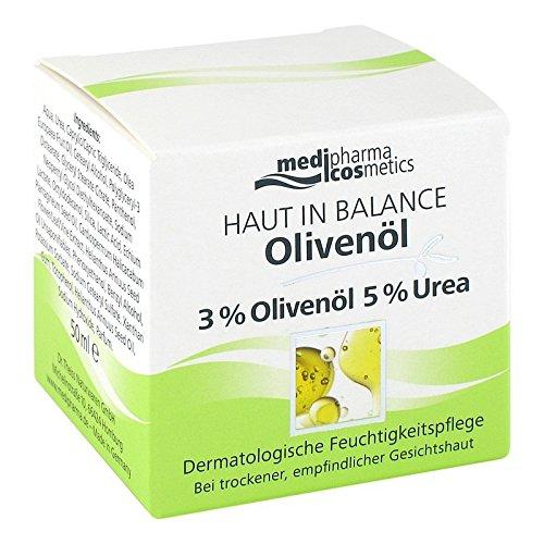 Peau en équilibre Huile d'Olive Soin Hydratant 3% 50 ml crème