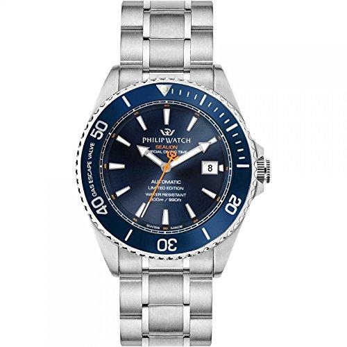 orologio meccanico uomo Philip Watch Sealion elegante cod. R8223209001