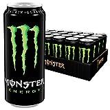 Monster Energy Drink mit klassischem Monster-Geschmack für gewaltige Energie, Dosen-Palette, EINWEG (24 x 500 ml)