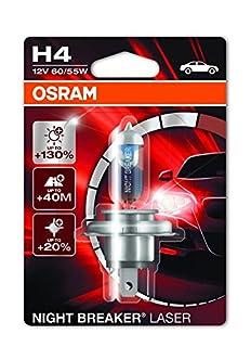 Osram 64193NBL-01B Night Breaker Laser H4 Halogen Headlight Lamp, 12V, Single Blister, 1 Piece (B01LLKFX2M) | Amazon price tracker / tracking, Amazon price history charts, Amazon price watches, Amazon price drop alerts