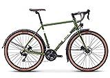breezer Doppler Team+ Cyclocross Bike 2019 (56cm, Olive Green Metallic W/Cream)