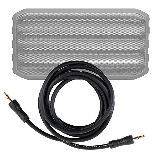 DURAGADGET Cable De Audio Para Altavoz Bluetooth Techvilla S01 - Entrada de 3.5mm Y Bañado En Oro